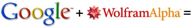 google + wolfram alpha